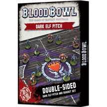200-50 Blood Bowl - Blood Bowl Dark Elf Pitch
