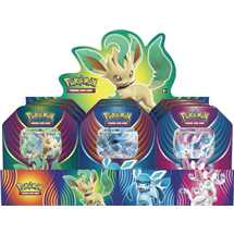 Display 9x Tin Pokemon Festa Evolutiva