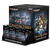Magic: The Gathering Creature Forge: Overwhelming Swarm 24 Ct. Gravity Feed - EN