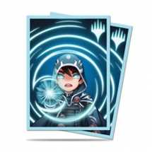 E-86912 Deck Protector MTG Chibi Collection Jace - Mystic for Magic (100 Sleeves)