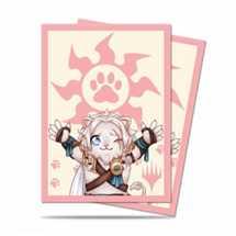 E-86907 Deck Protector MTG Chibi Collection Ajani - Lion Hug for Magic (100 Sleeves)