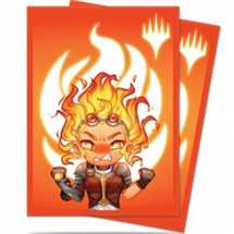 E-86908 Deck Protector MTG Chibi Collection Chandra - Maximum Power for Magic (100 Sleeves)