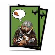 E-86910 Deck Protector MTG Chibi Collection Garruk - I'm Starving! for Magic (100 Sleeves)