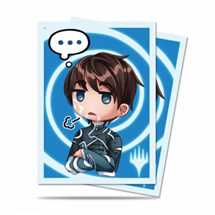 E-86913 Deck Protector MTG Chibi Collection Jace - Sigh... for Magic (100 Sleeves)