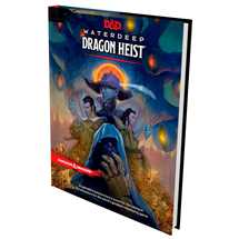 Dungeons & Dragons 5a ed. - D&D - Waterdeep Dragon Heist Book