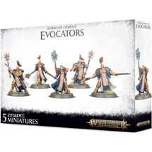 96-41 Stormcast Eternals Evocators on Celestial Dracolines