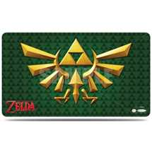E-85438 PlayMat The Legend of Zelda: Green Crest Playmat con Tubo
