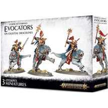 96-41 Stormcast Eternals Evocators on Dracolines