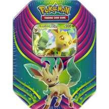 Tin Pokemon Festa Evolutiva Leafeon GX