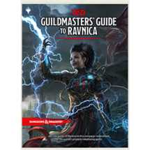 Dungeons & Dragons - Guildmaster's Guide to Ravnica RPG Book - EN