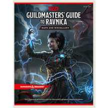 Dungeons & Dragons - Guildmaster's Guide to Ravnica RPG Maps and Miscellany - EN