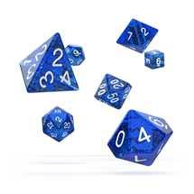 ODD500018 Oakie Doakie Dice RPG Set Speckled - Blue (7)