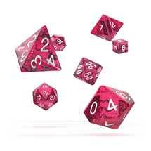 ODD500019 Oakie Doakie Dice RPG Set Speckled - Pink (7)