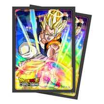 E-85886 Dragon Ball Dragon Ball Super Standard Size Deck Protector sleeves 65ct. Gogeta