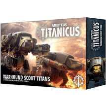 400-18 Adeptus Titanicus Warhound Scout Titans