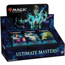MTG - Ultimate Masters Booster Display (24 Buste) - EN (Solo Pagamento Anticipato)