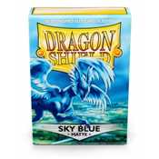 11219 Dragon Shield Standard Sleeves - Matte Sky Blue (60 Sleeves)