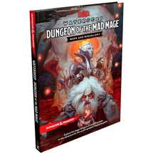 Dungeons & Dragons 5a ed. - Dungeon of the Mad Mage Maps and Miscellany - EN