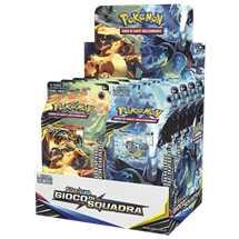 Box 8x Mazzi Pokemon Sole e Luna Gioco di Squadra ITA