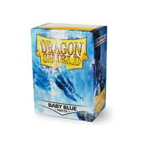 11032 Dragon Shield Standard Sleeves - Matte Baby Blue (100 Sleeves)