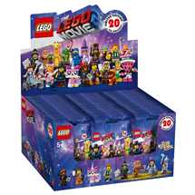 The LEGO® Movie™ 2 Mini Figures Display (60)