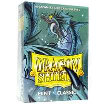 10625 Dragon Shield Small Sleeves - Japanese Mint (60 Sleeves)