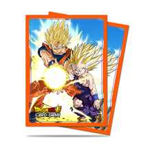 E-85776 Dragon Ball Dragon Ball Super Standard Size Deck Protector sleeves 65ct. Father-Son