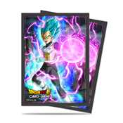 E-85775 Dragon Ball Dragon Ball Super Standard Size Deck Protector sleeves 65ct. Vegeta