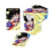 E-85777 Porta Mazzo Dragon Ball Super Full-View Deck Box Explosive Spirit, Son Goku