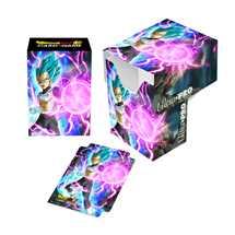 E-85778 Porta Mazzo Dragon Ball Super Full-View Deck Box God Charge Vegeta
