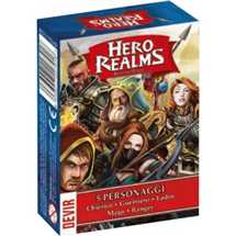 Hero Realms - Personaggi
