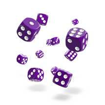 ODD400030 Oakie Doakie Dice D6 Dice 12 mm Solid - Purple (36)