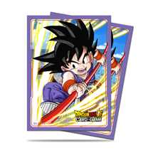E-85774 Dragon Ball Dragon Ball Super Standard Size Deck Protector sleeves 65ct. Son Goku