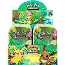 Display 10x Mini Tin Pokemon Amici di Kanto