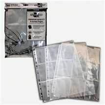 BF07998 9-Pocket Pages - Clear - Top Loading (50 pcs)
