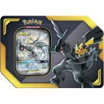 Tin Pokemon Collezione Alleati Pikachu e Zekrom GX