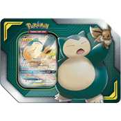 Tin Pokemon Collezione Alleati Eevee e Snorlax GX