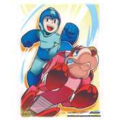 16003 Dragon Shield Standard Art Sleeves - Mega Man & Rush (100 Sleeves)