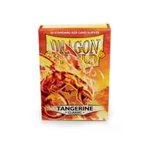 10730 Dragon Shield Standard Sleeves - Classic Tangerine (60 Sleeves)
