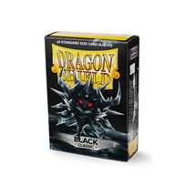 10702 Dragon Shield Standard Sleeves - Classic Black (60 Sleeves)