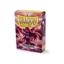 10726 Dragon Shield Standard Sleeves - Classic Magenta (60 Sleeves)
