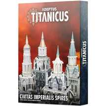 400-27 Adeptus Titanicus Civitas Imperialis Spiresn