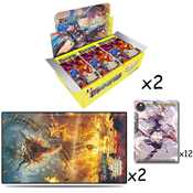 1 Kit Prerelease + 2 Box FOW V3 (2 playmat + 14 promo)