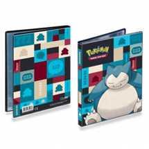 E-85528 Album Portfolio 4 Tasche Pokemon Snorlax