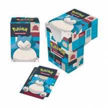 E-85526 Porta Mazzo Full-View Deck Box - Pokemon Snorlax
