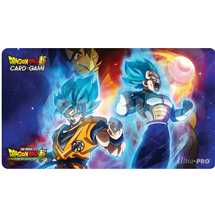 E-85983 Dragon Ball Super Playmat Vegeta, Goku, and Broly + Tubo