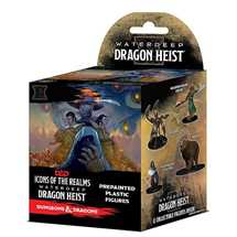 Dungeons & Dragons: Icons of the Realms Waterdeep Dragon Heist Booster Brick