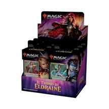 MTG - Throne of Eldraine Planeswalker Deck Display (6 Decks) - IT