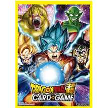 Dragon Ball Dragon Ball Super Standard Size Deck Protector sleeves bt5 Pre