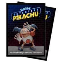 E-15202 Deck Protector Pokemon Detective Pikachu - Mr. Mime 65ct